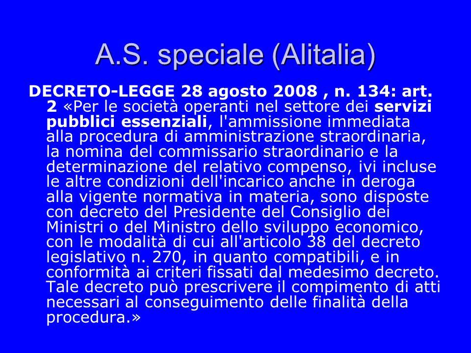 A.S. speciale (Alitalia)
