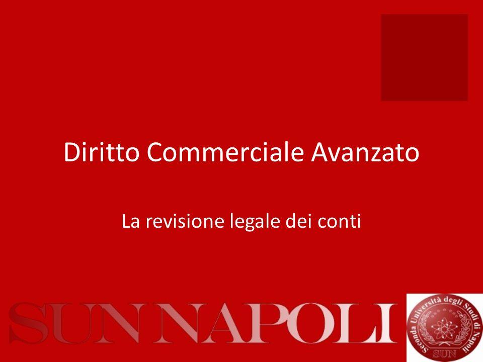 Diritto Commerciale Avanzato