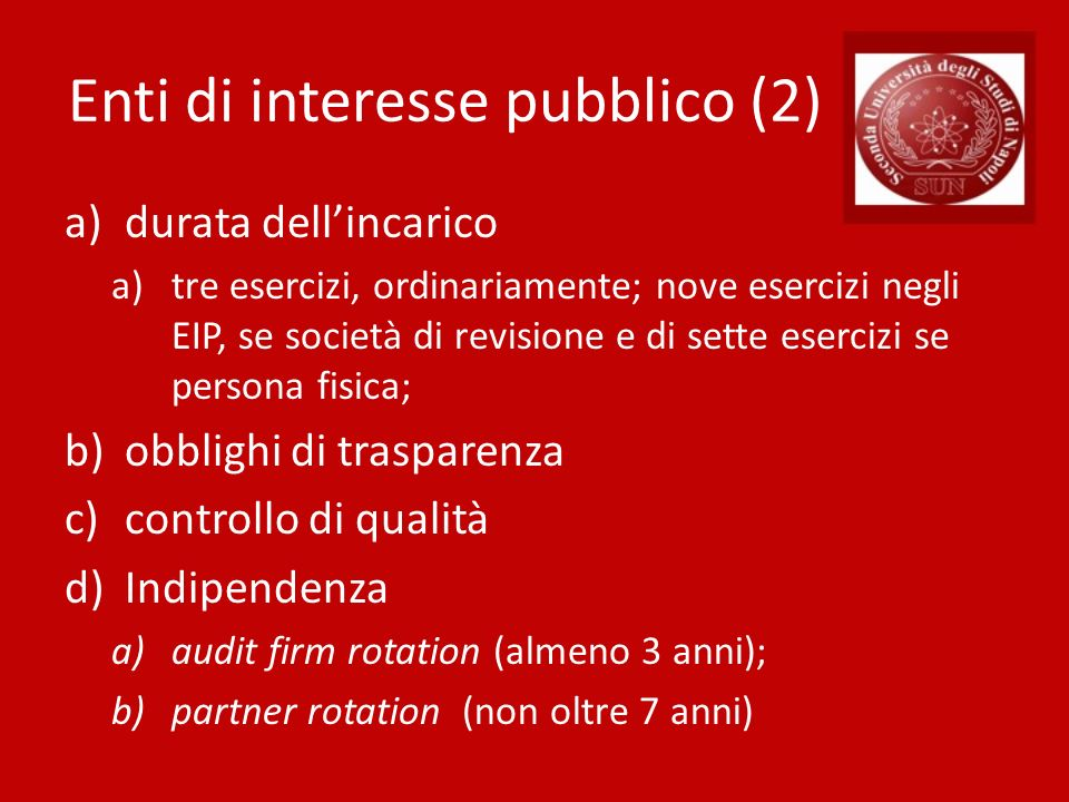 Enti di interesse pubblico (2)