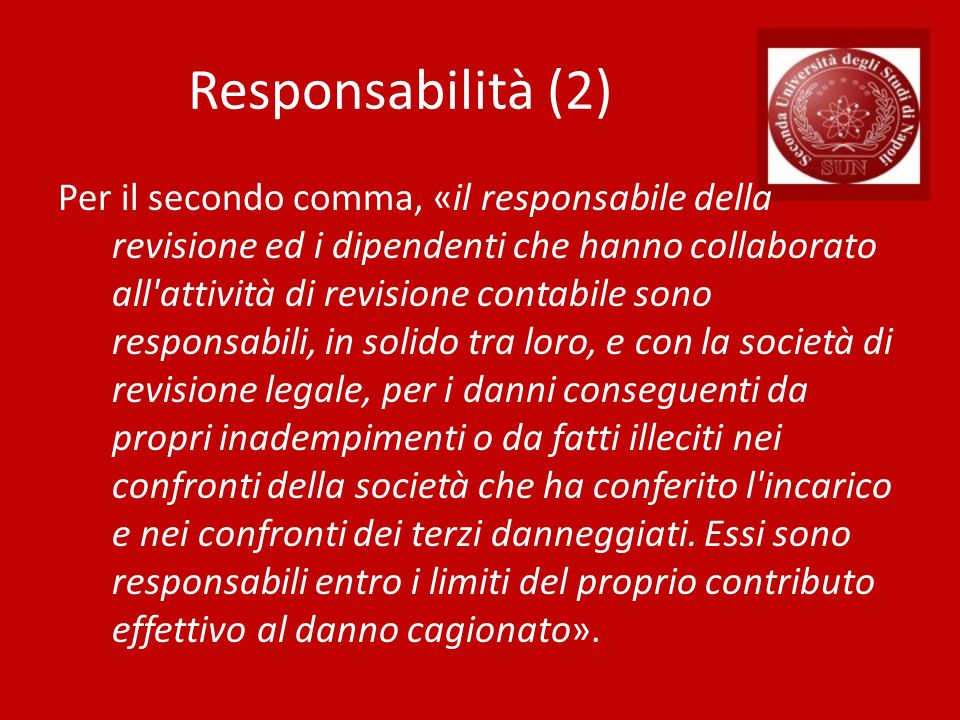 Responsabilità (2)