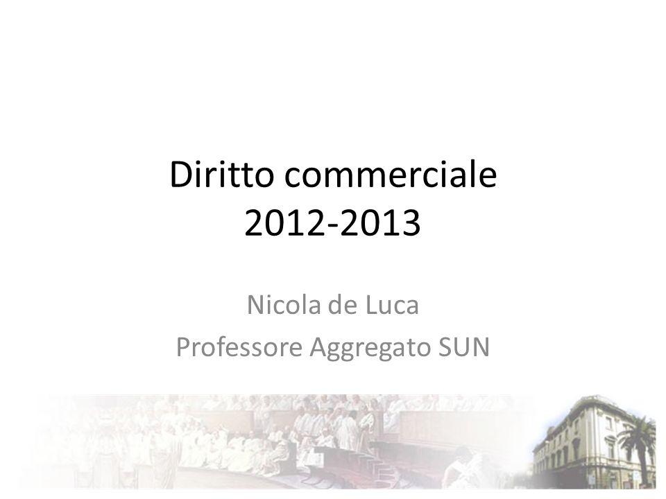 Nicola de Luca Professore Aggregato SUN