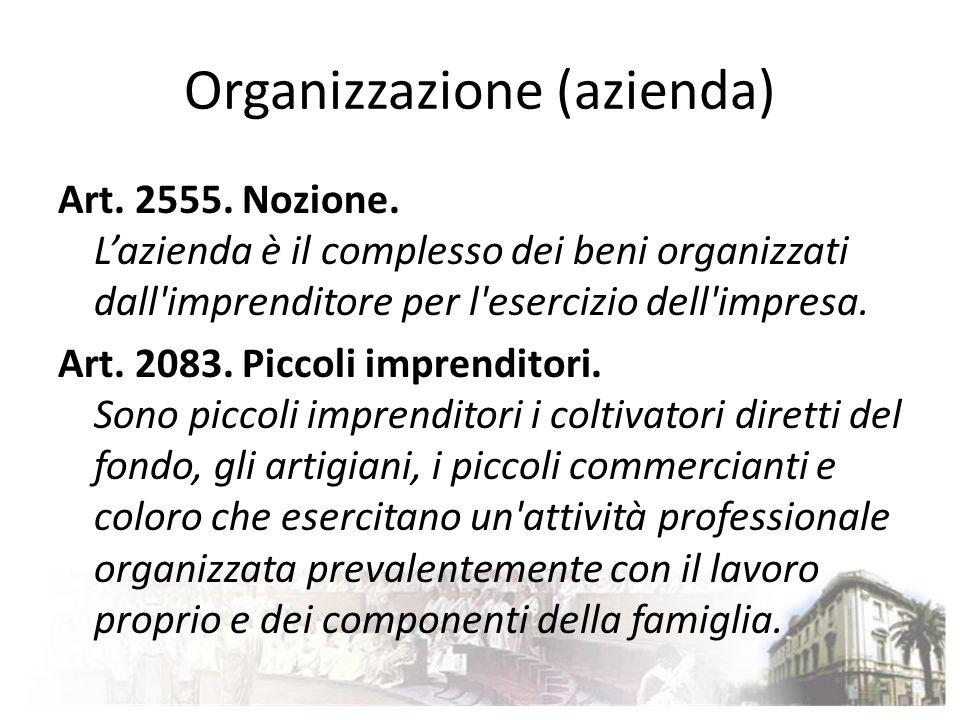 Organizzazione (azienda)
