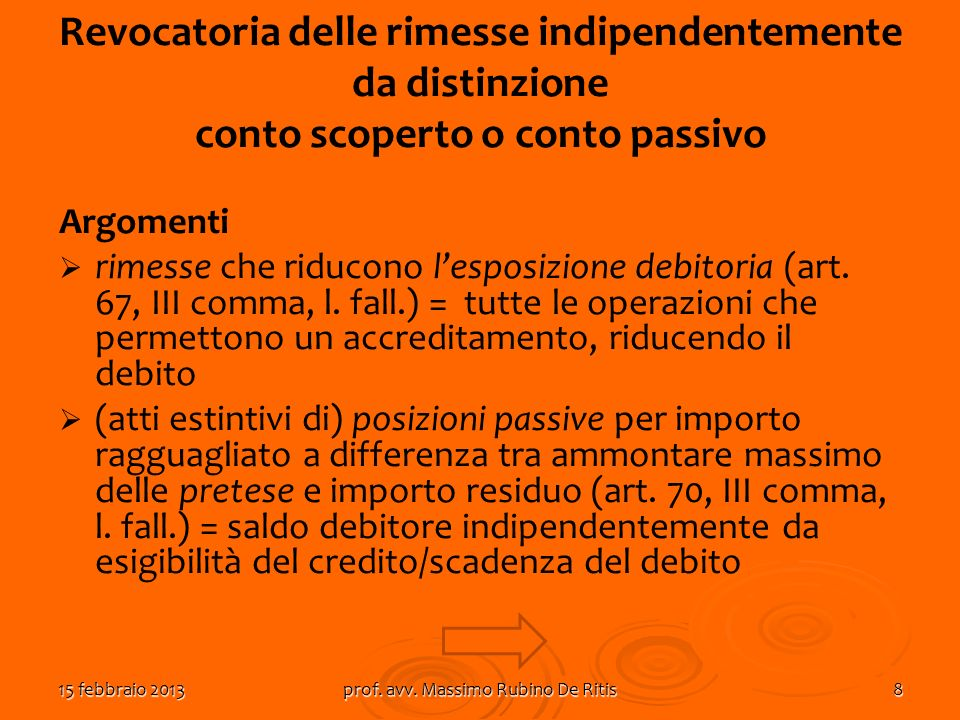 prof. avv. Massimo Rubino De Ritis
