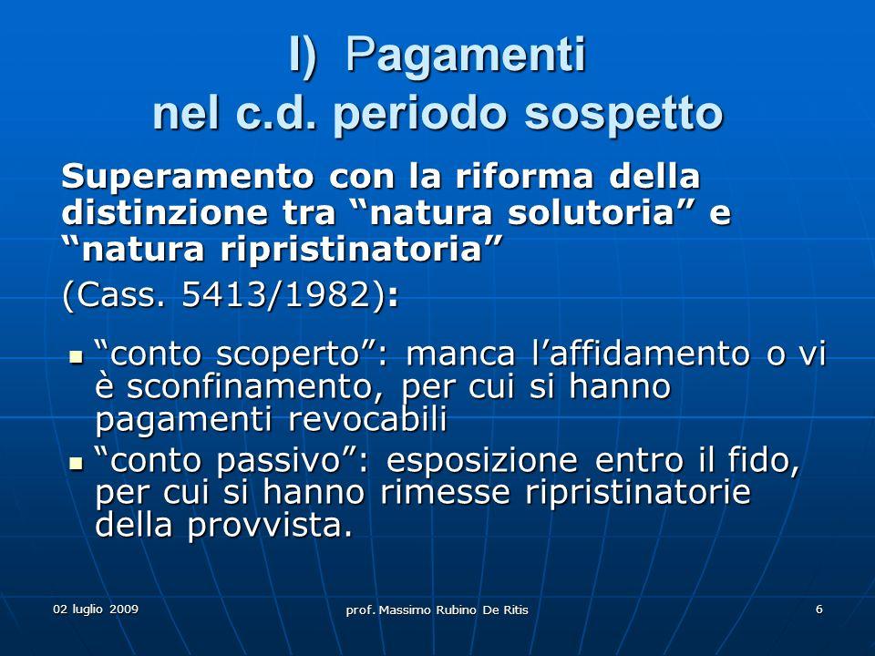 prof. Massimo Rubino De Ritis