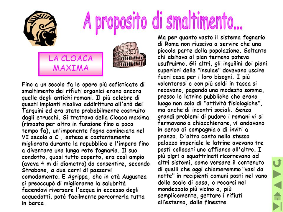 A proposito di smaltimento...
