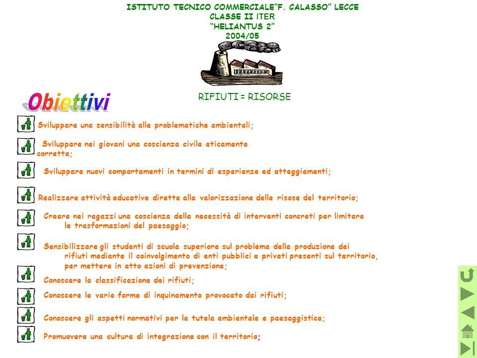 ISTITUTO TECNICO COMMERCIALE F. CALASSO LECCE