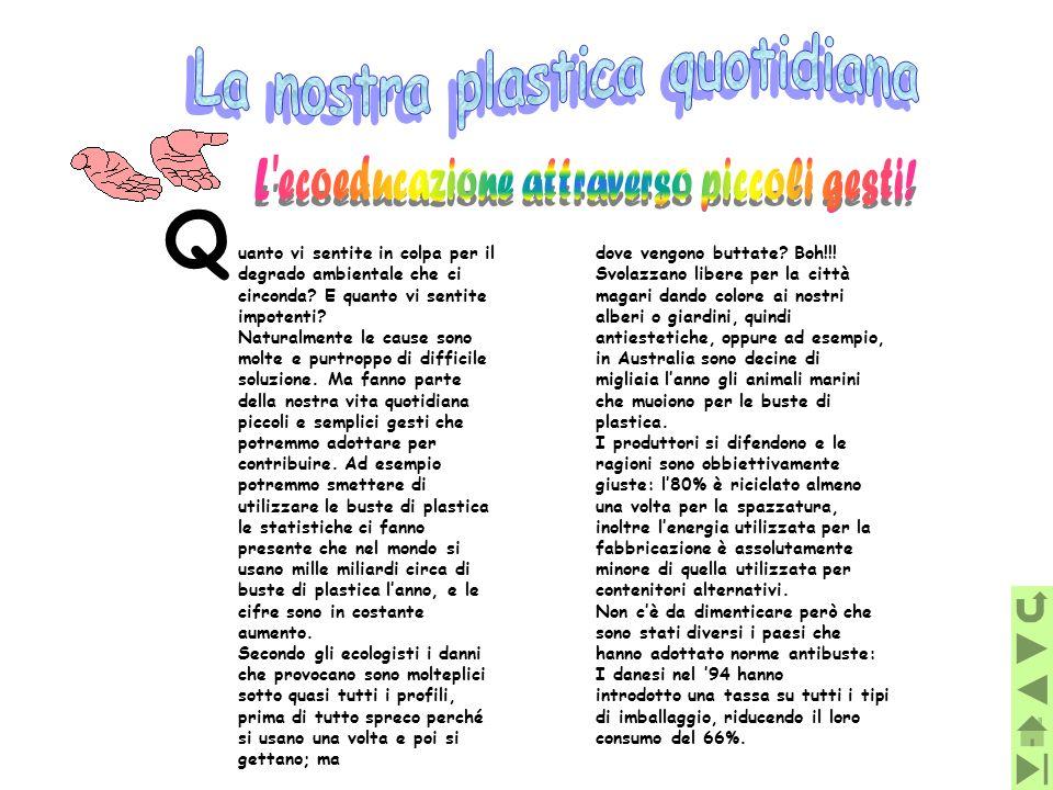 Q La nostra plastica quotidiana