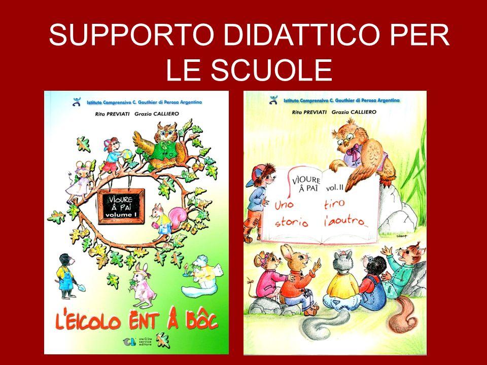 SUPPORTO DIDATTICO PER LE SCUOLE