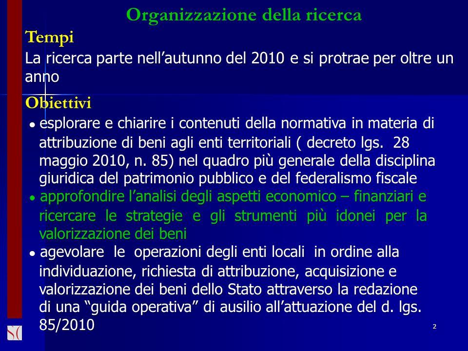 Organizzazione della ricerca