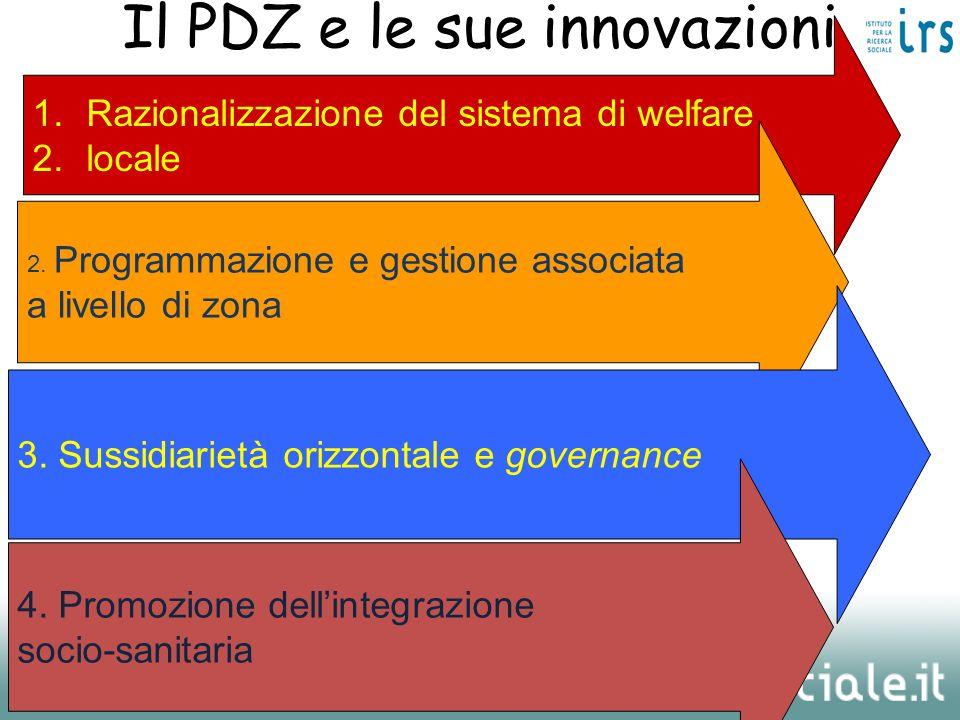 Il PDZ e le sue innovazioni