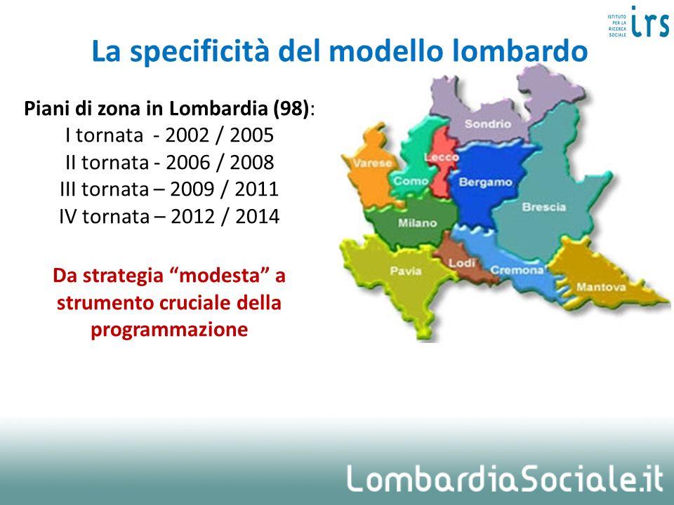 La specificità del modello lombardo