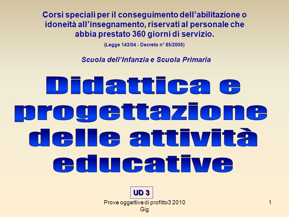 Didattica e progettazione delle attività educative