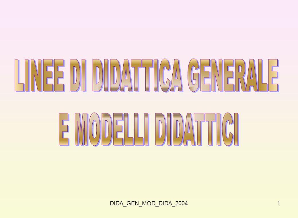 LINEE DI DIDATTICA GENERALE