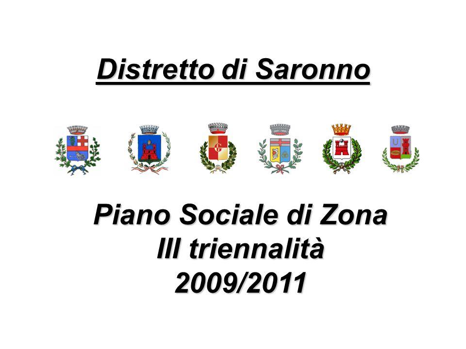 Piano Sociale di Zona III triennalità 2009/2011