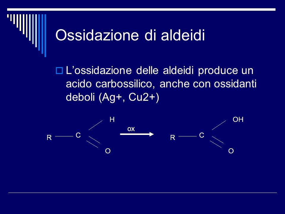 Ossidazione di aldeidi