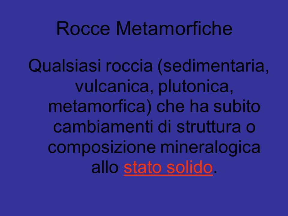 Rocce Metamorfiche