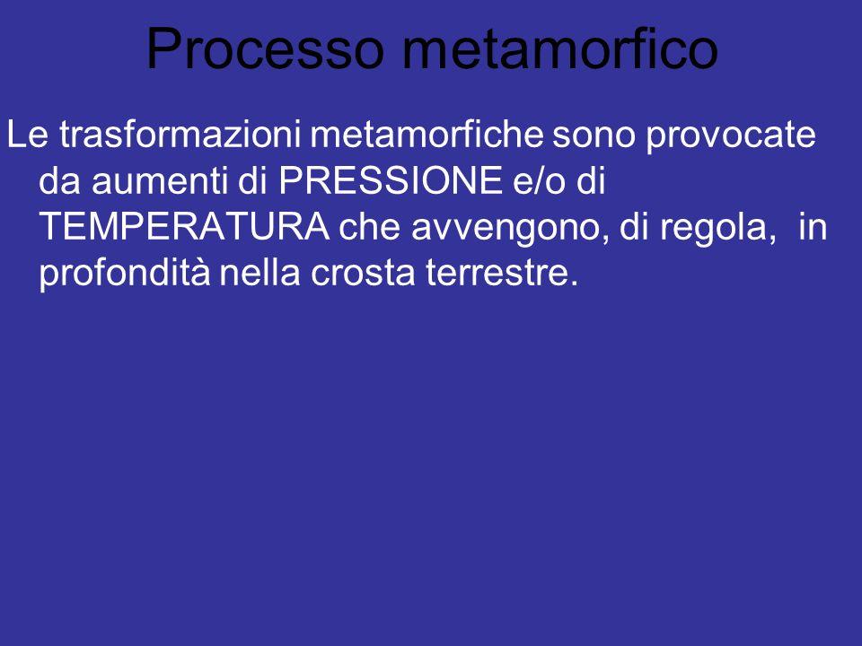 Processo metamorfico
