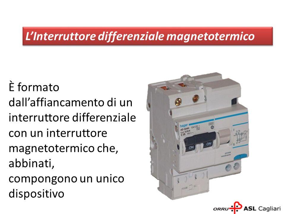 L'Interruttore differenziale magnetotermico