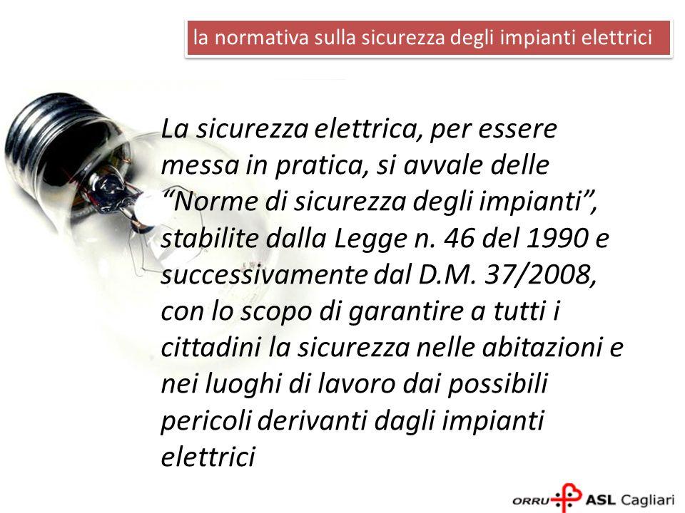 La sicurezza elettrica, per essere