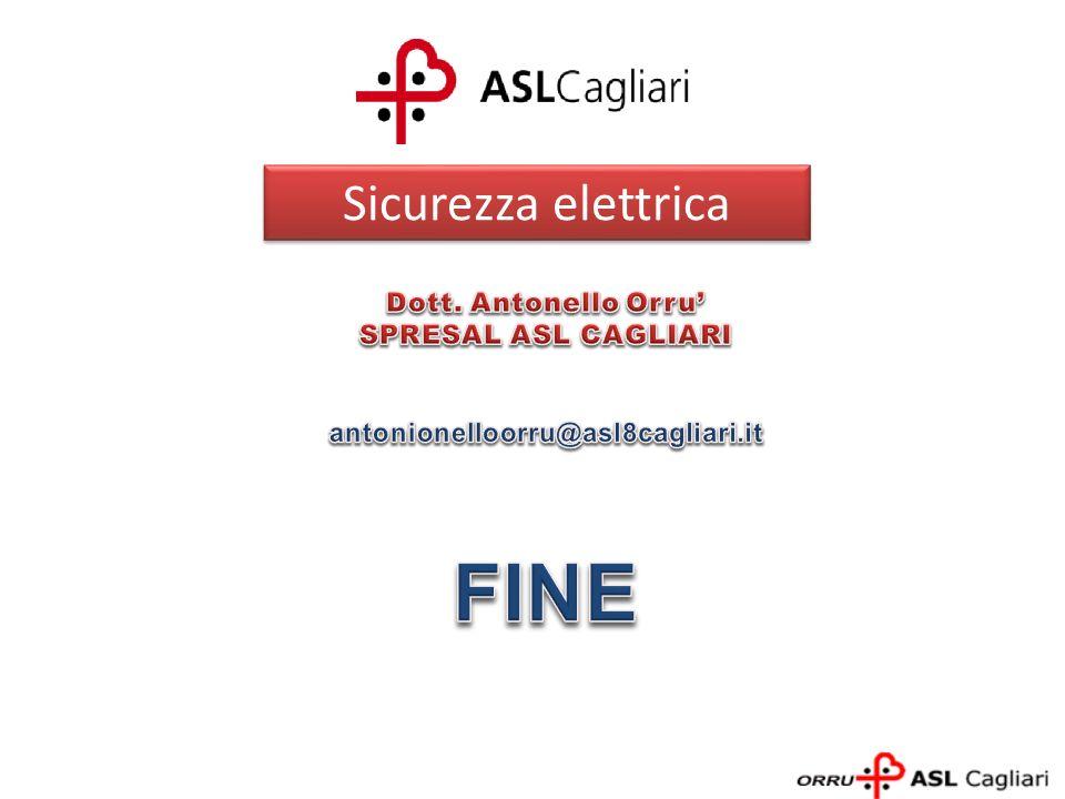 FINE Sicurezza elettrica Dott. Antonello Orru' SPRESAL ASL CAGLIARI