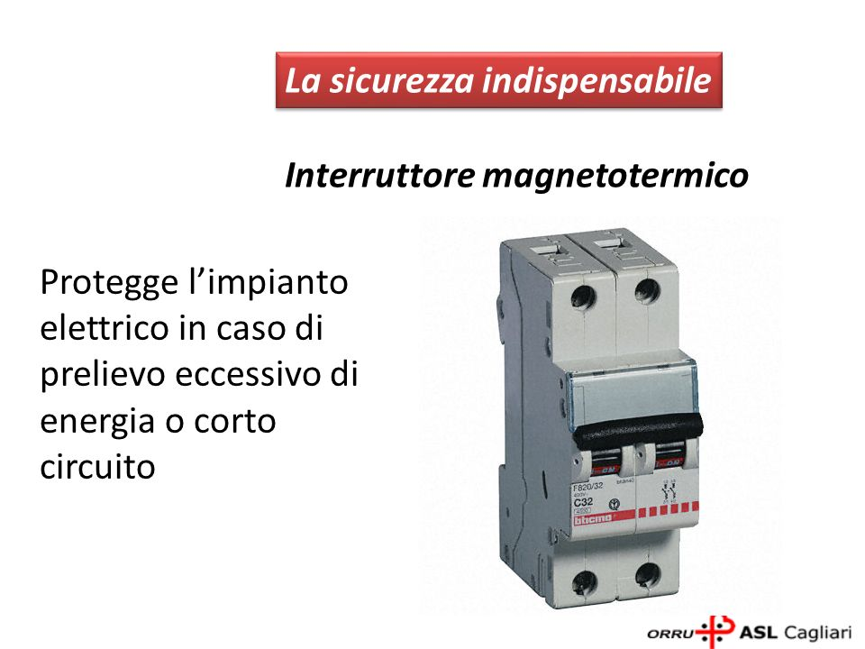 La sicurezza indispensabile