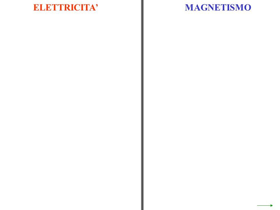 ELETTRICITA' MAGNETISMO