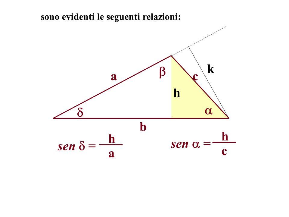 k  a c h   b sen  = c h sen  = a h