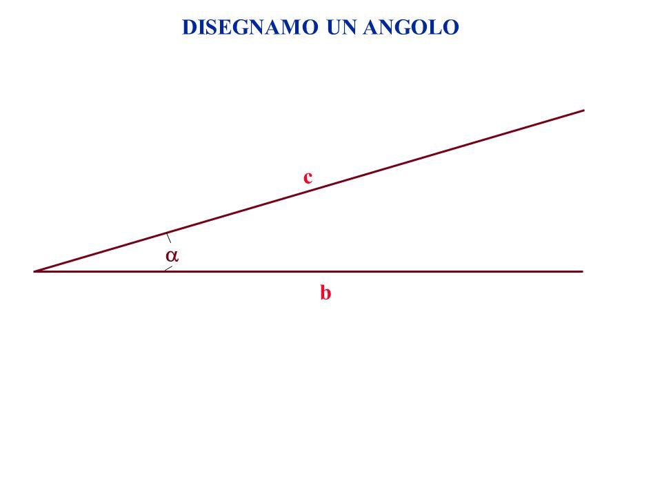DISEGNAMO UN ANGOLO c  b