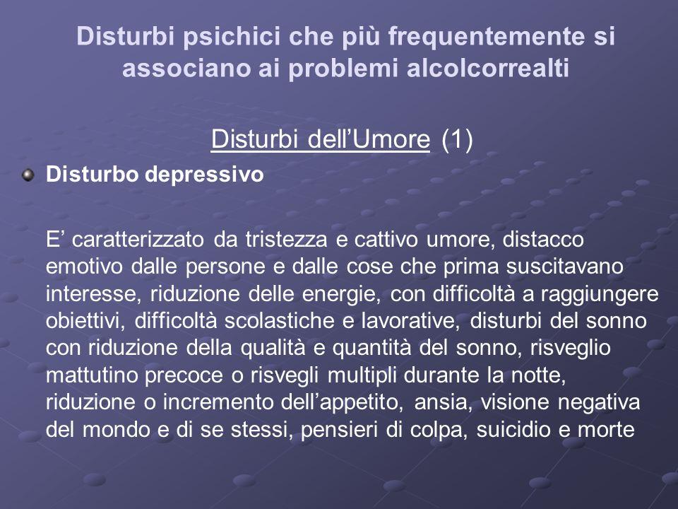 Disturbi dell'Umore (1)