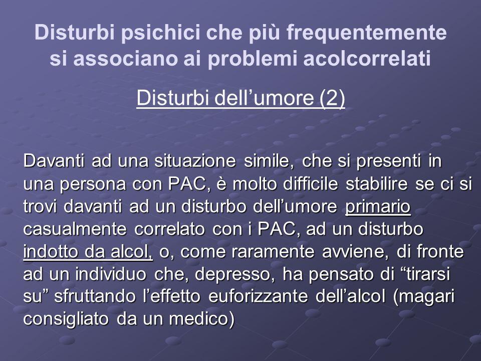 Disturbi dell'umore (2)