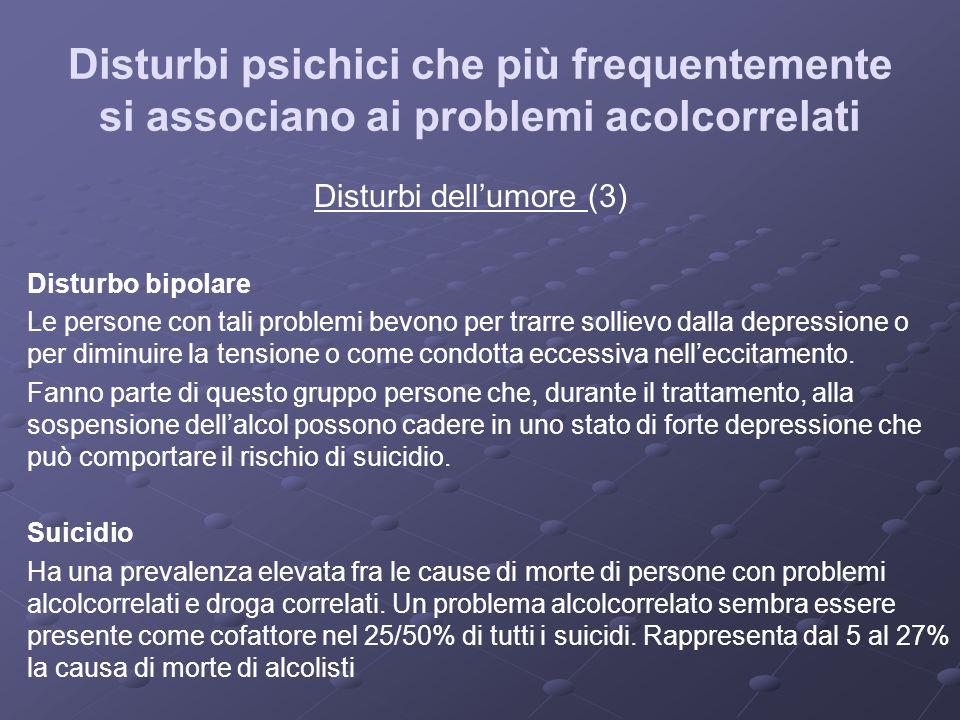Disturbi dell'umore (3)