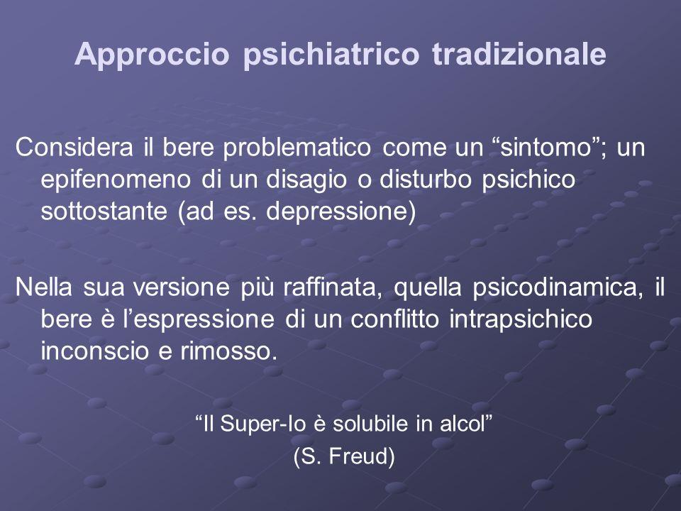 Approccio psichiatrico tradizionale