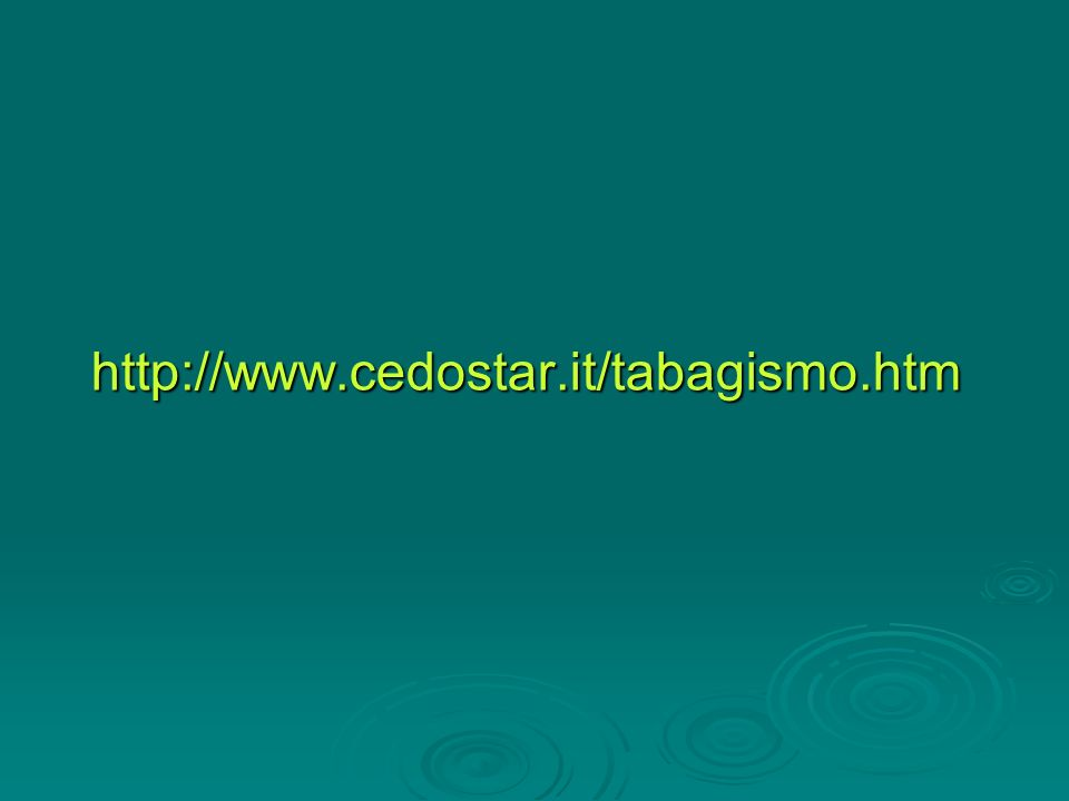 http://www.cedostar.it/tabagismo.htm