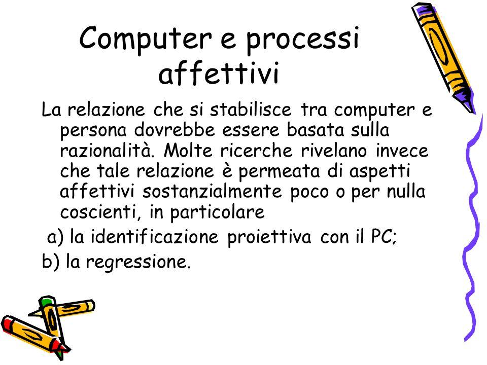 Computer e processi affettivi