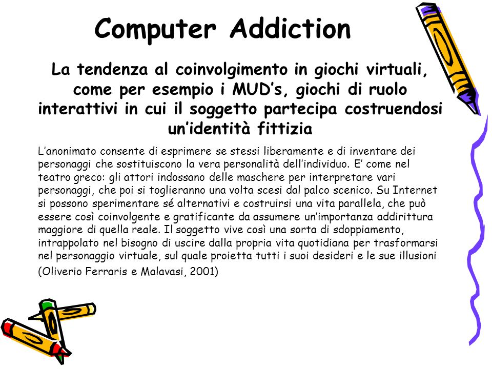 Computer Addiction