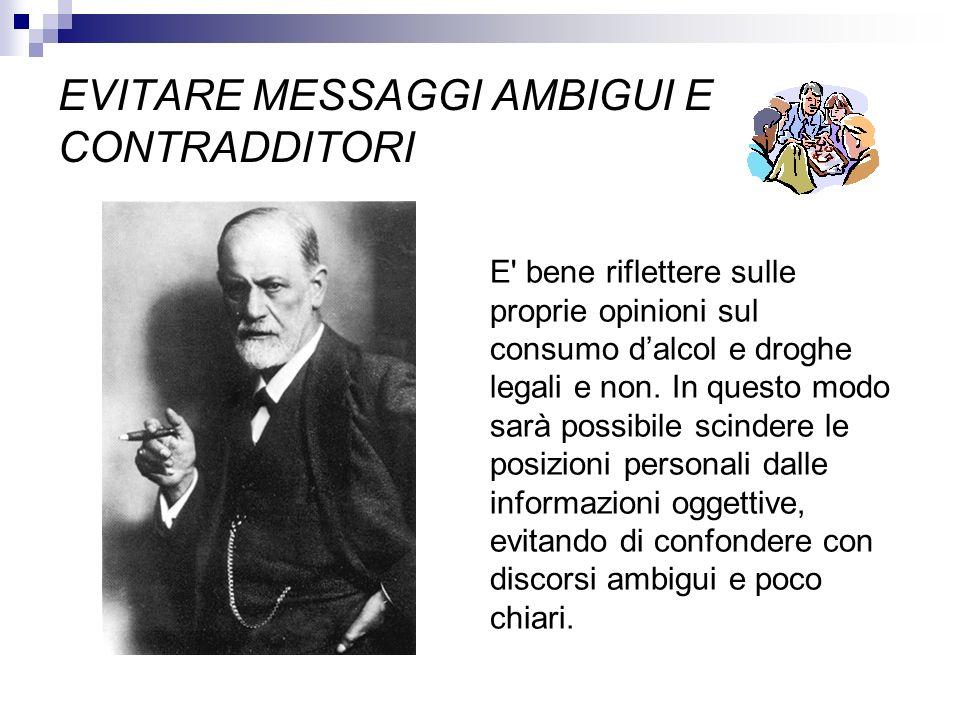 EVITARE MESSAGGI AMBIGUI E CONTRADDITORI