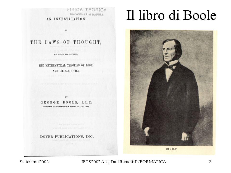 IFTS2002 Acq. Dati Remoti: INFORMATICA