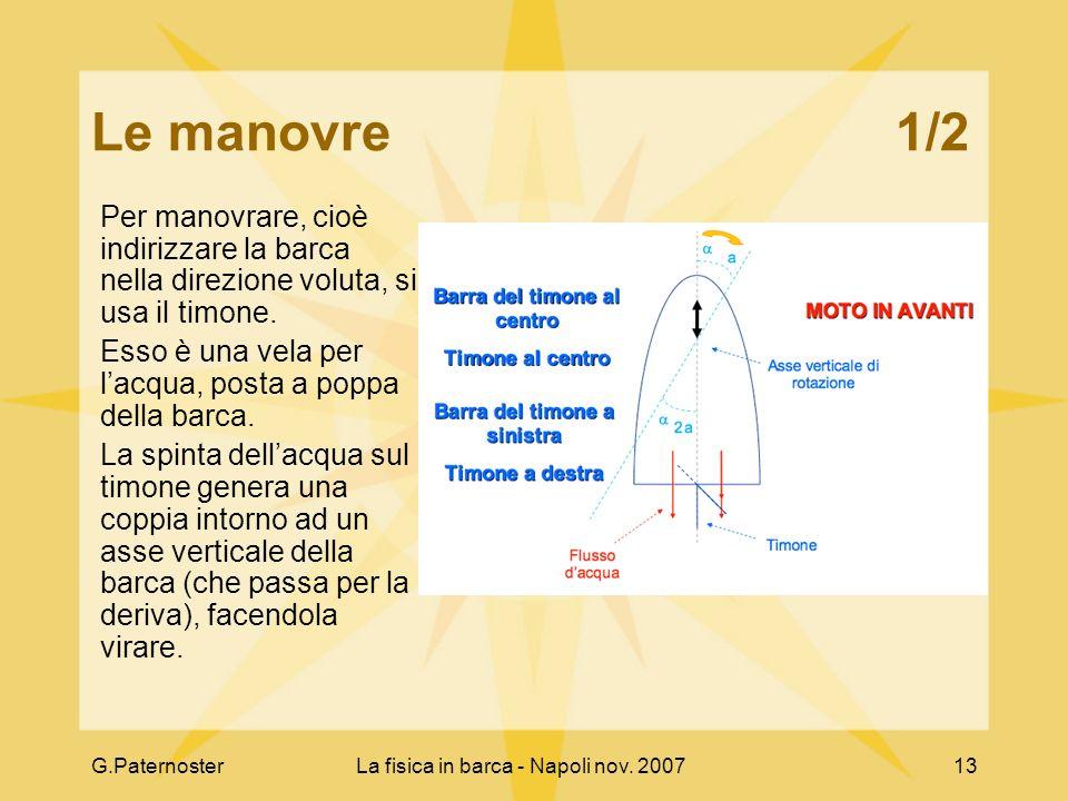 La fisica in barca - Napoli nov. 2007