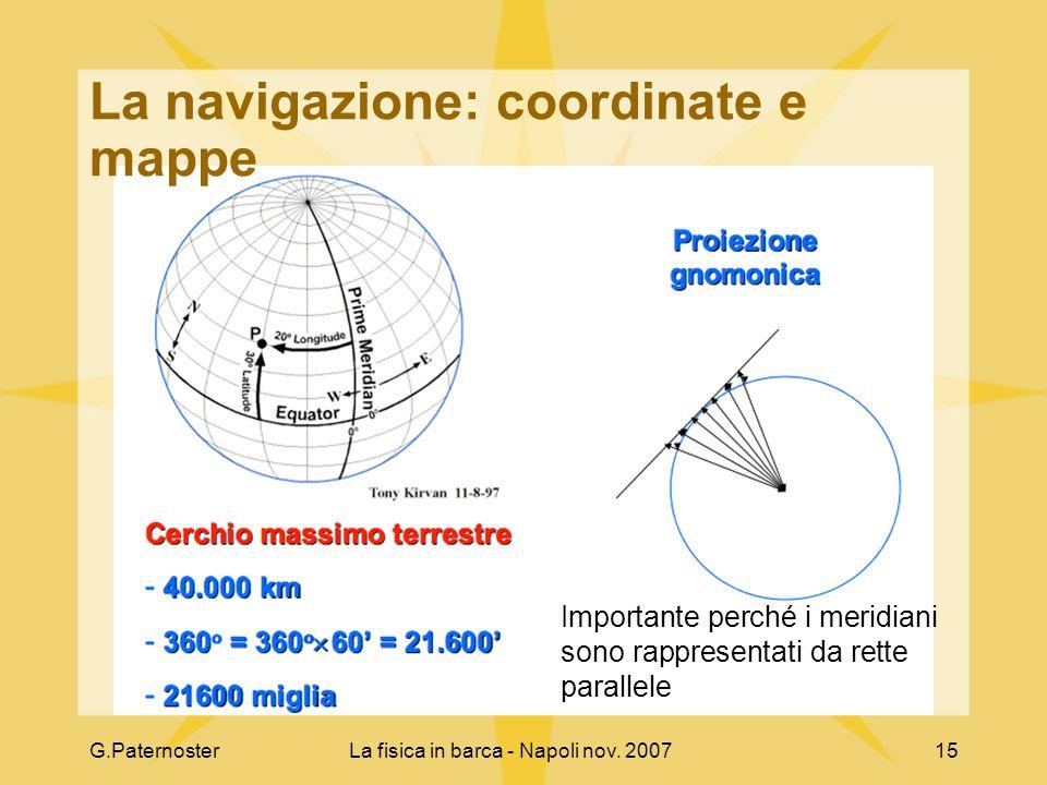 La navigazione: coordinate e mappe