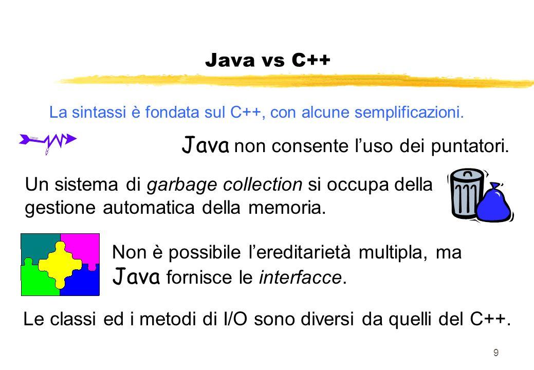 La sintassi è fondata sul C++, con alcune semplificazioni.