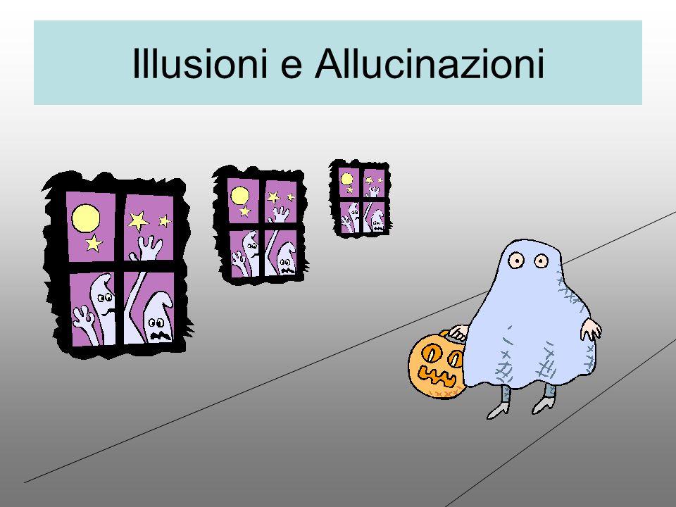 Illusioni e Allucinazioni