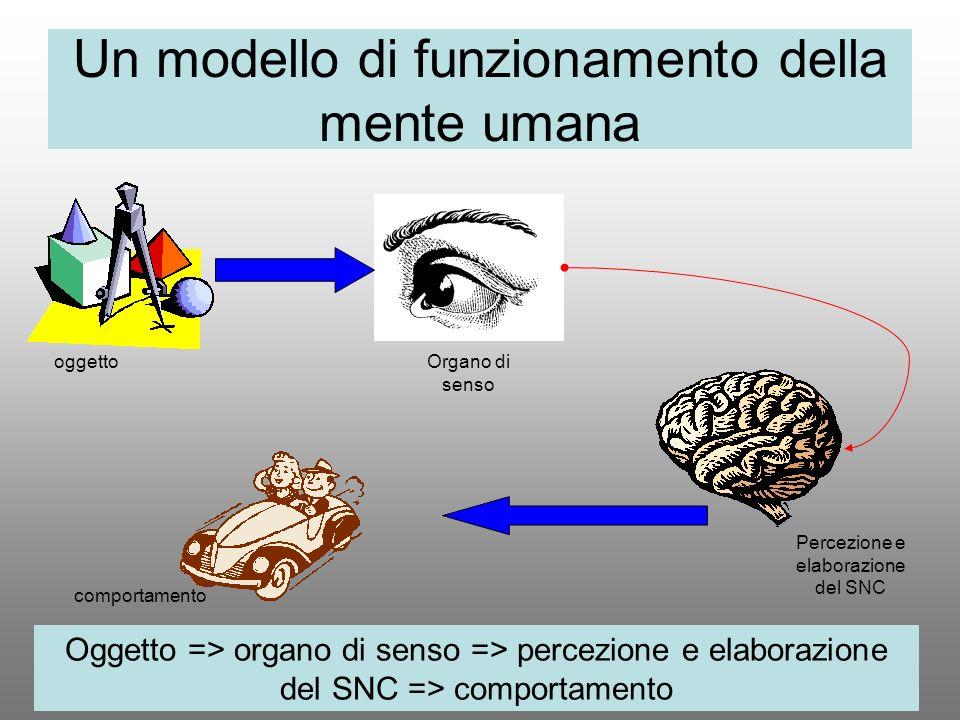 Un modello di funzionamento della mente umana