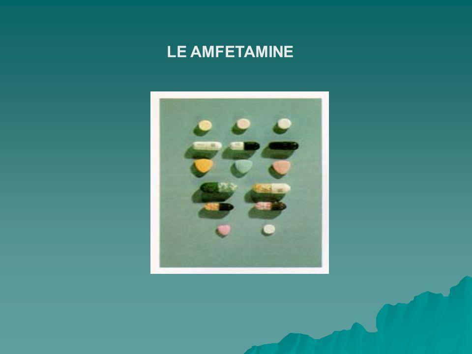 LE AMFETAMINE