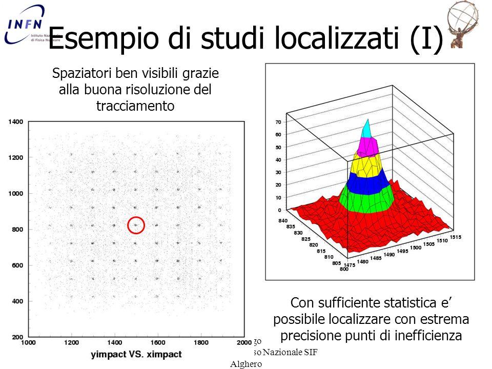 Esempio di studi localizzati (I)