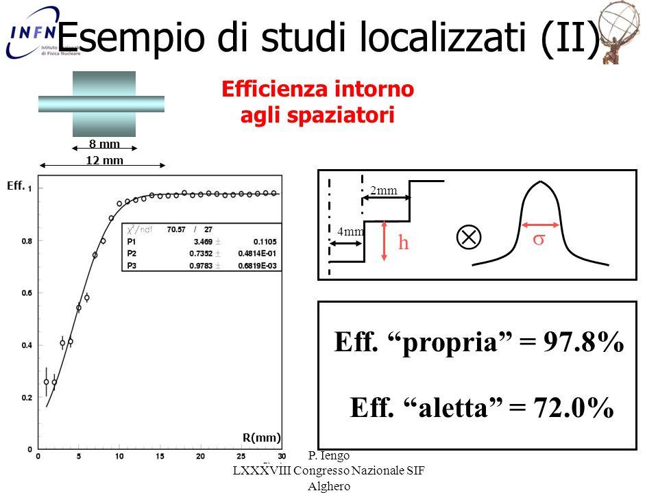 Esempio di studi localizzati (II)
