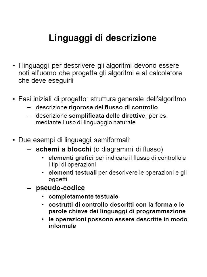 Linguaggi di descrizione