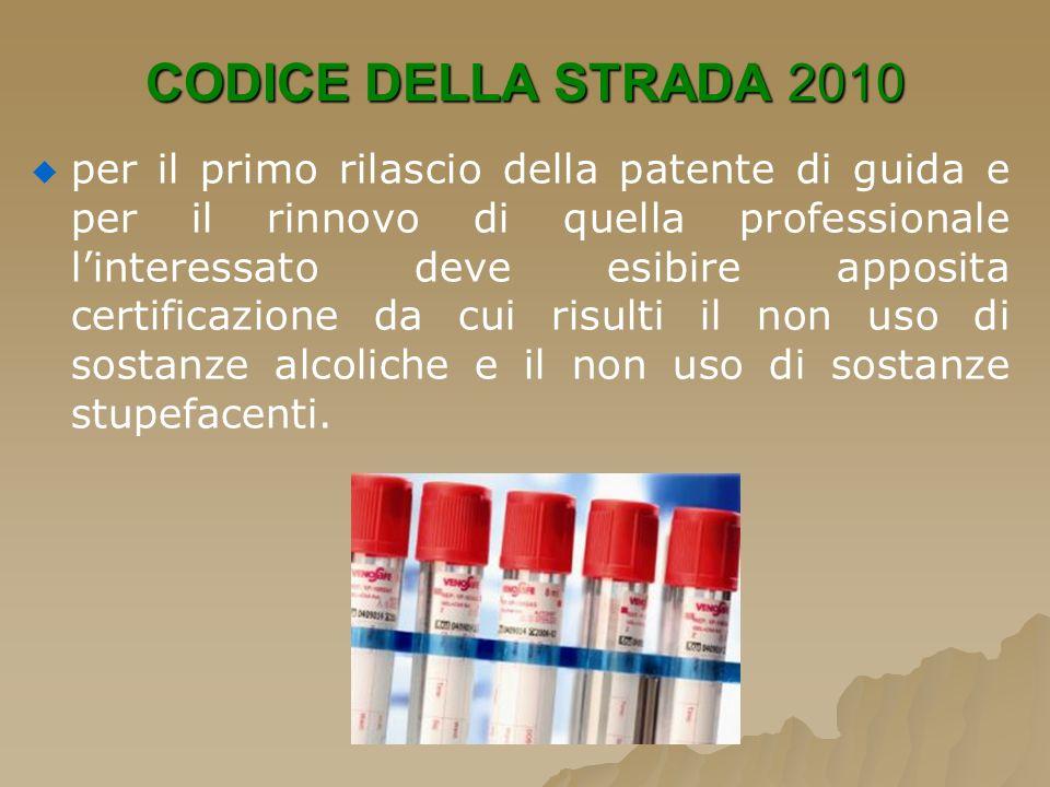 CODICE DELLA STRADA 2010