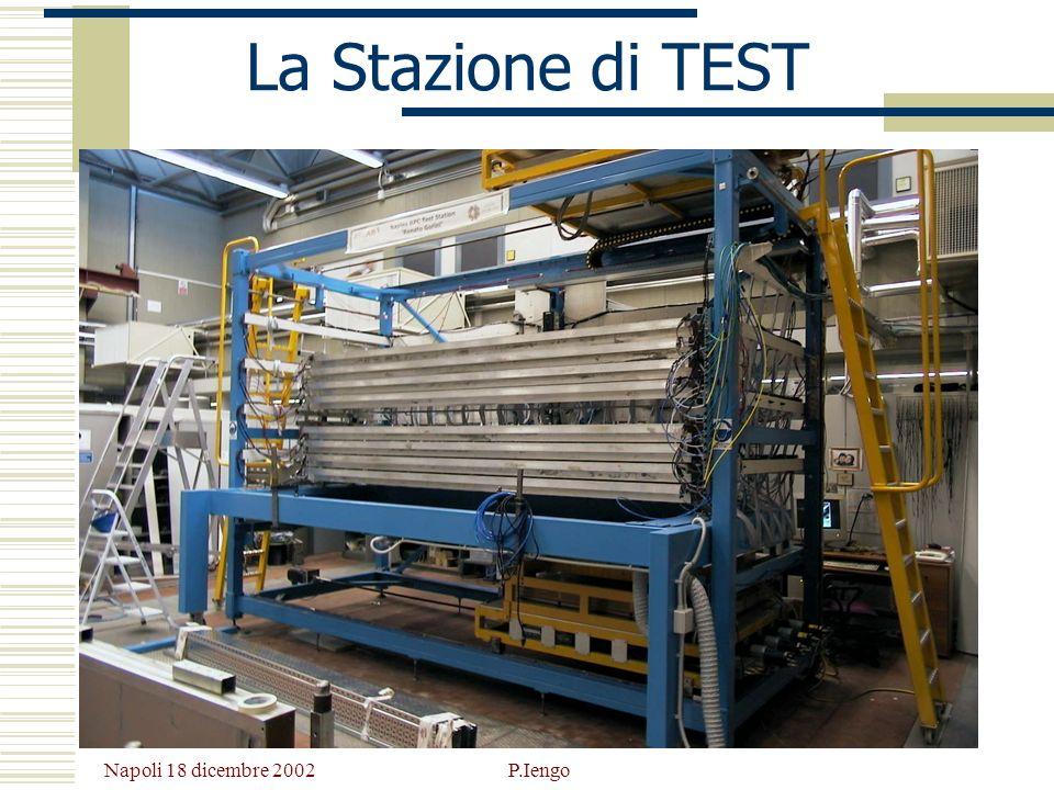La Stazione di TEST Napoli 18 dicembre 2002 P.Iengo