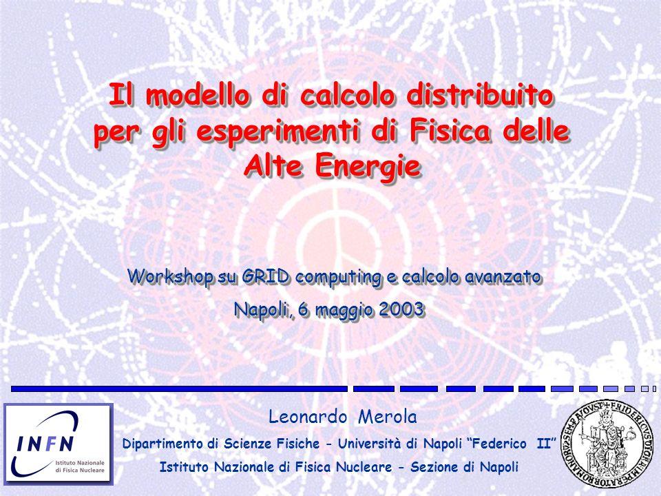 Il modello di calcolo distribuito per gli esperimenti di Fisica delle Alte Energie