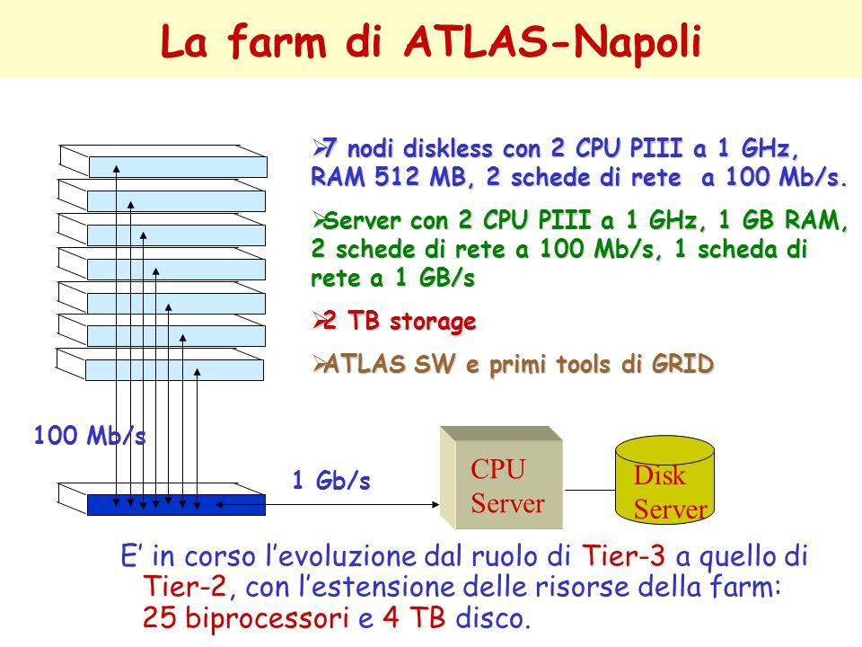 La farm di ATLAS-Napoli